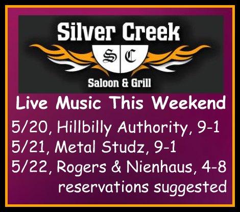 Silver Creek Poster 5-20-16