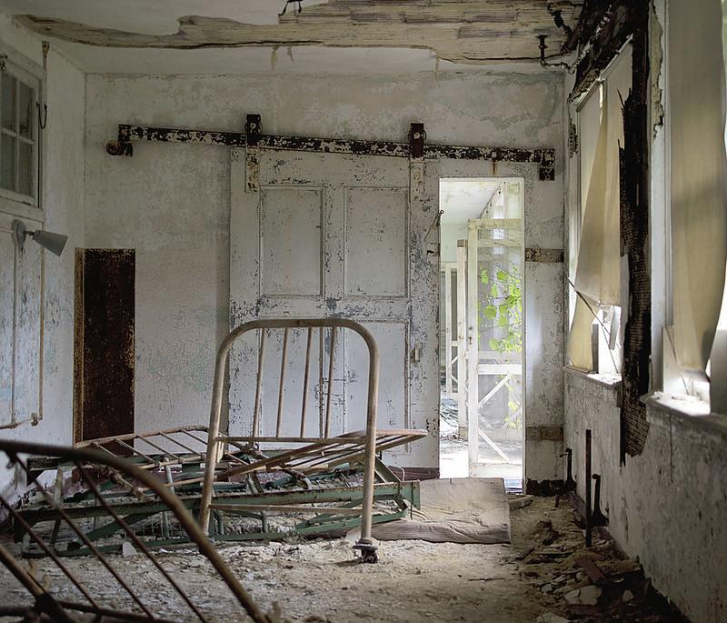 Cama abandonada
