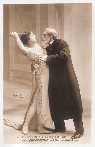 Georges Wague and Christine Kerf in Épreuve Fatale