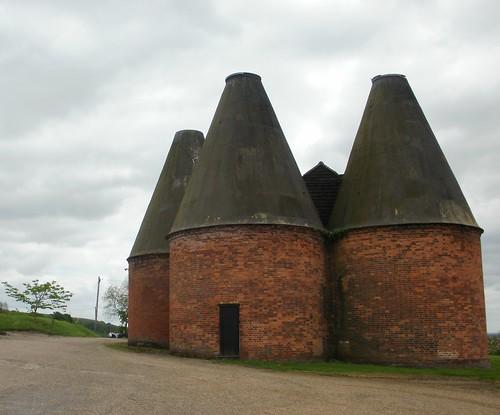 Old oast houses