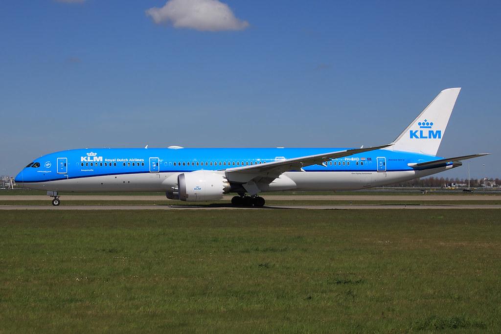 PH-BHD - B789 - KLM