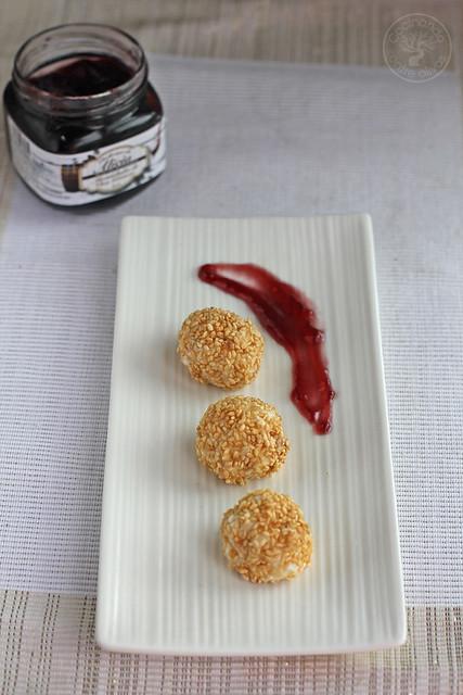 Bombones de queso y mermelada de vino www.cocinandoentreolivos.com (14)