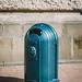 Fancy trash cans in Lviv...