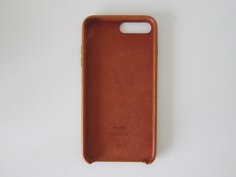 Apple iPhone 7 Plus Leather Case (Saddle Brown) - Front