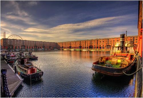 Early Albert Dock