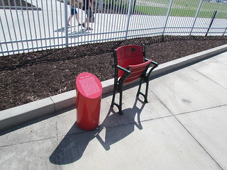 The Red Seat South at JetBlue Park -- Ft. Myers, FL, March 16, 2015