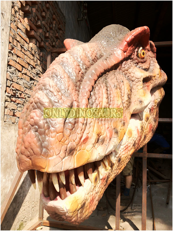 T-Rex Head Replica