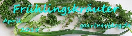 Garten-Koch-Event April 2015: Frühlingskräuter [30.04.2015]