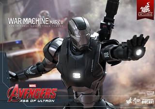 Hot Toys – MMS290D10 – 復仇者聯盟2:奧創紀元【戰爭機器馬克二】1/6 比例 War Machine Mark II