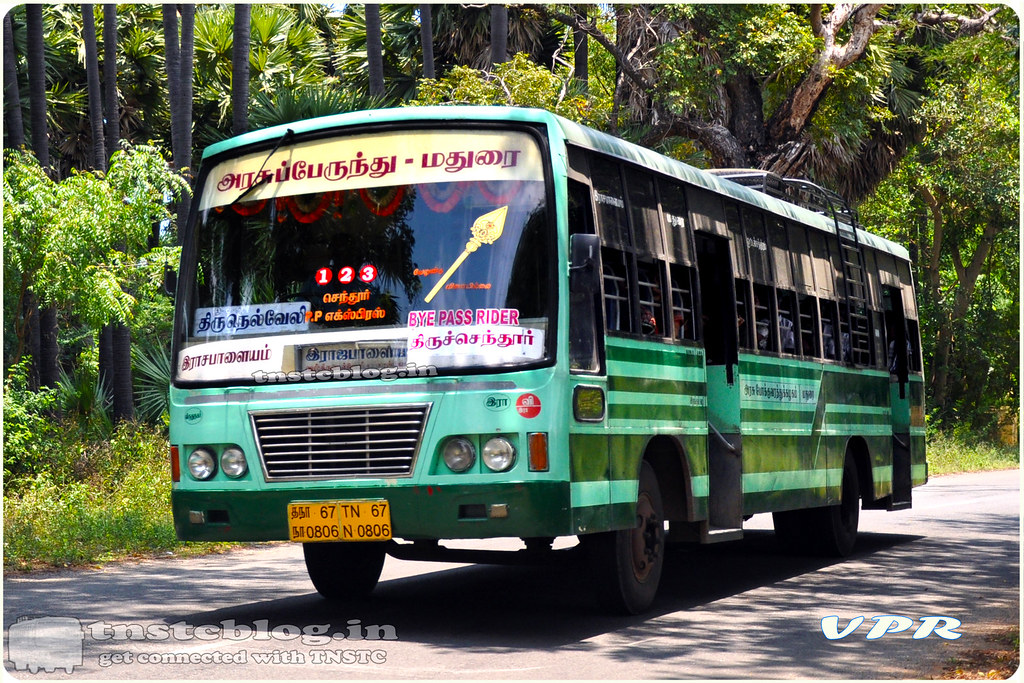 TN-67N-0806 of Rajapalayam Depot Route Rajapalayam - Thiruchendur via Sankarankovil, Tirunelveli