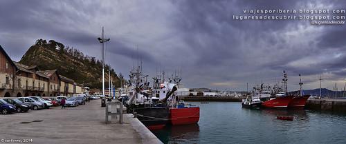 Getariako portua (Gipuzkoa, Euskadi)