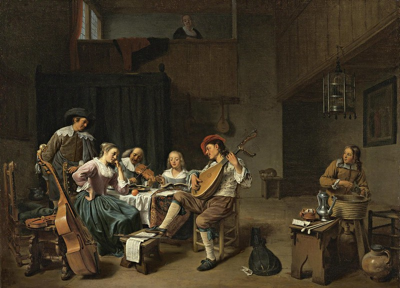 Hendrik Martensz Sorgh - Musical Company (1661)