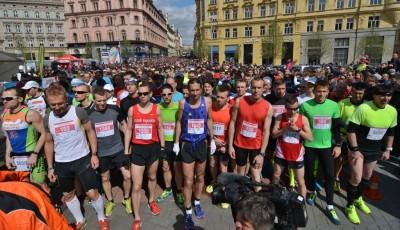 Brněnský půlmaraton ovládli Kučera a Vnenčáková