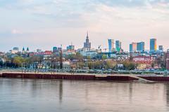 Spring Evening | Warsaw Skyline