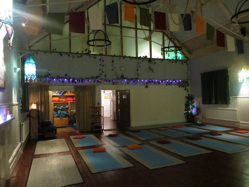 main room, the yoga hall, st albans