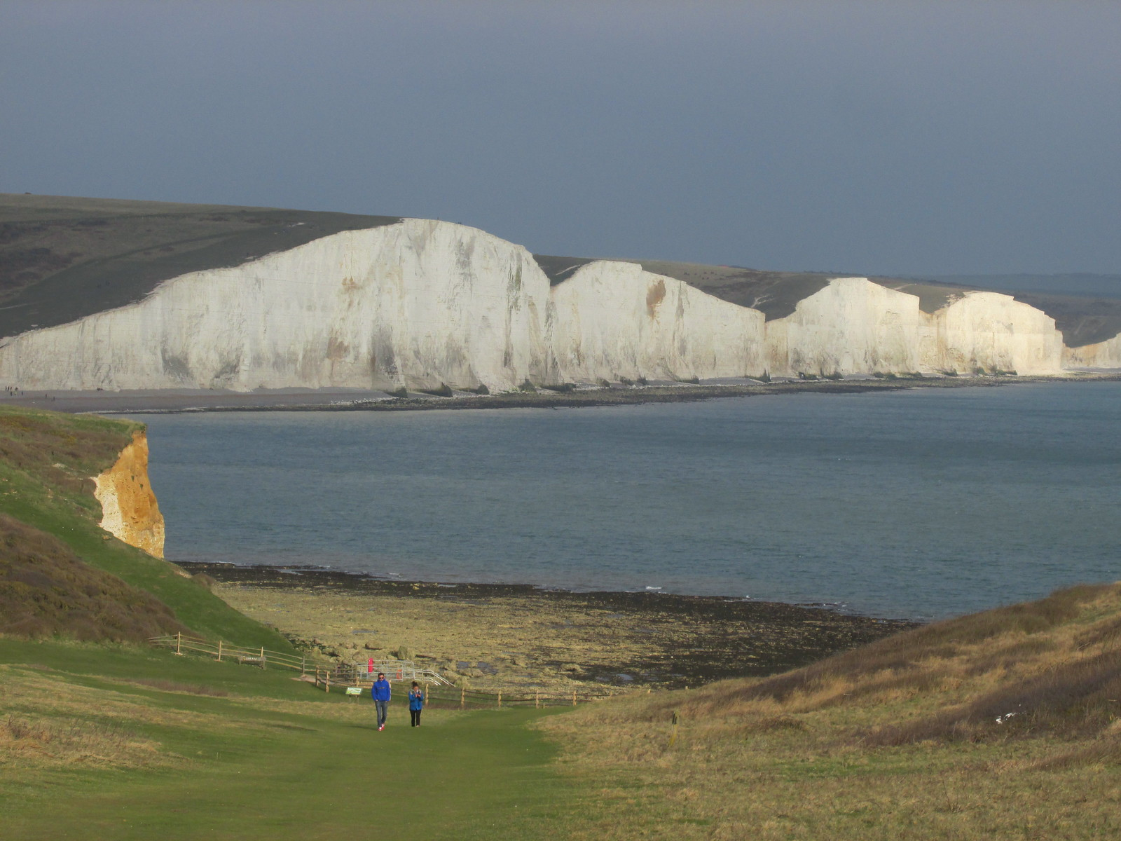 April 6, 2015: Glynde to Seaford Seven Sisters view