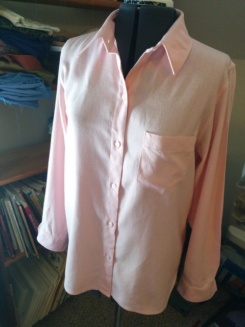 Kwik Sew 3555 women's shirt