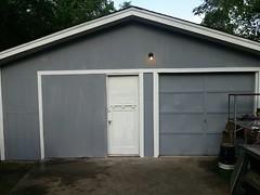 barn(0.0), outdoor structure(0.0), building(1.0), garden buildings(1.0), garage(1.0), property(1.0), door(1.0), real estate(1.0), shed(1.0),