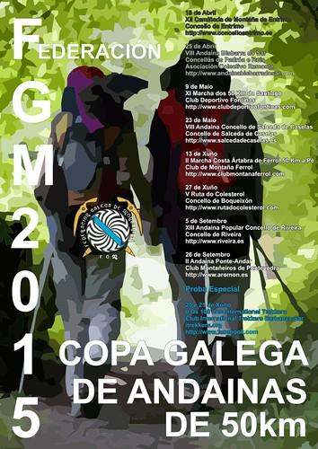 Copa Galega de Andainas de 50 km (2015)