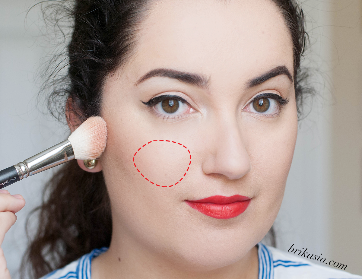 how to apply blush, best tools for blush, blush brush