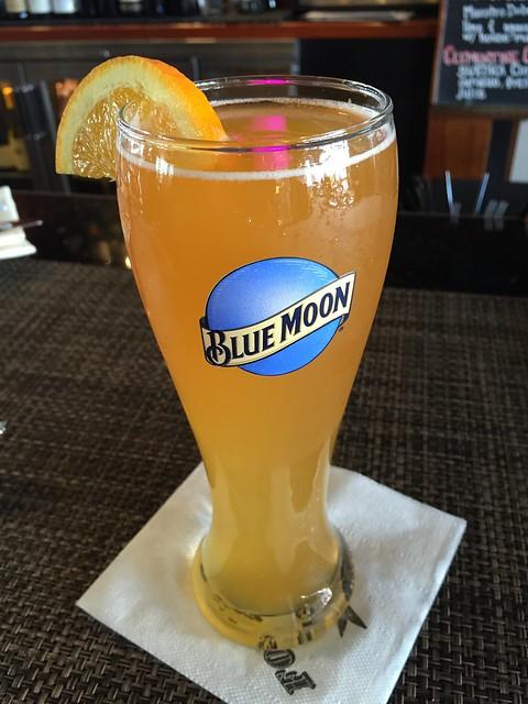 Blue Moon draft beer - Fog Harbor Fish House