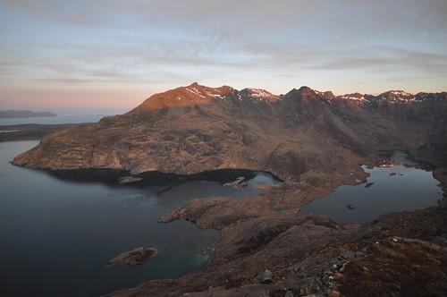 Loch Scavaig & Loch Coruisk at Sunrise
