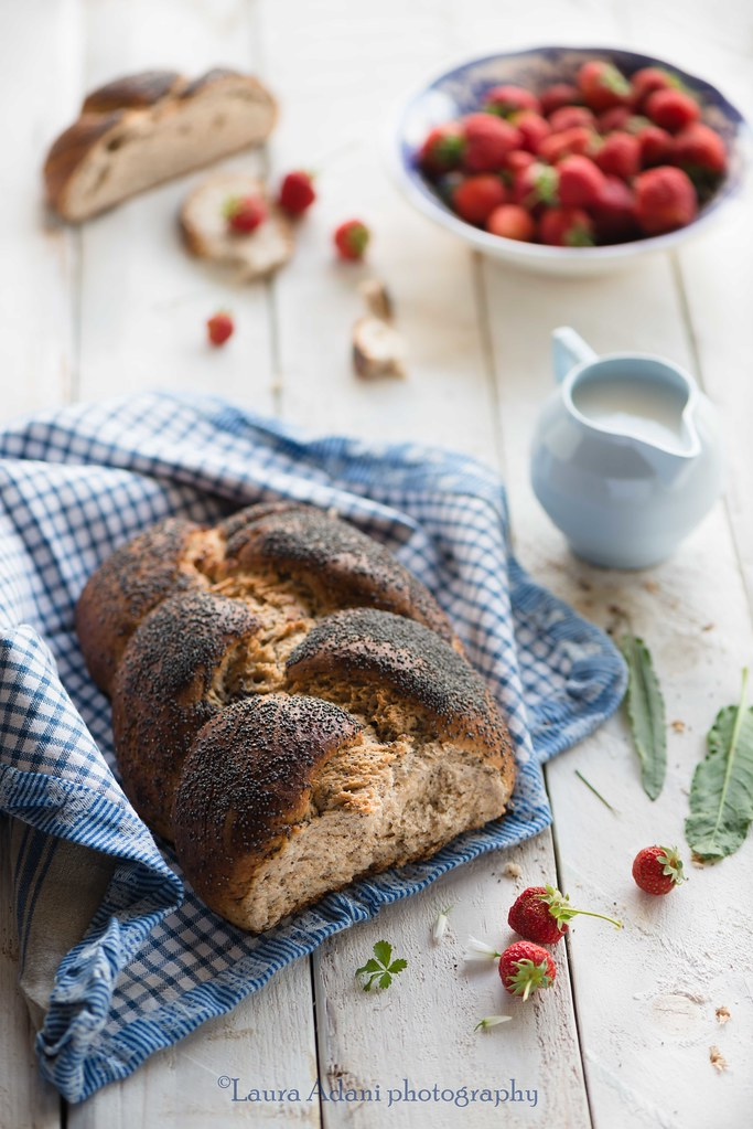 poppy seeds braided bread