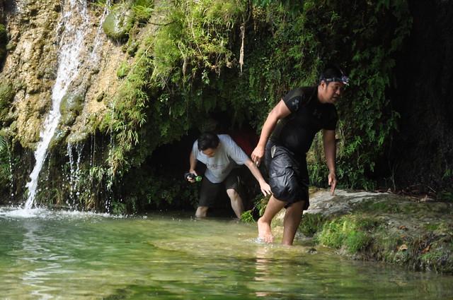 Solcok Falls Caving