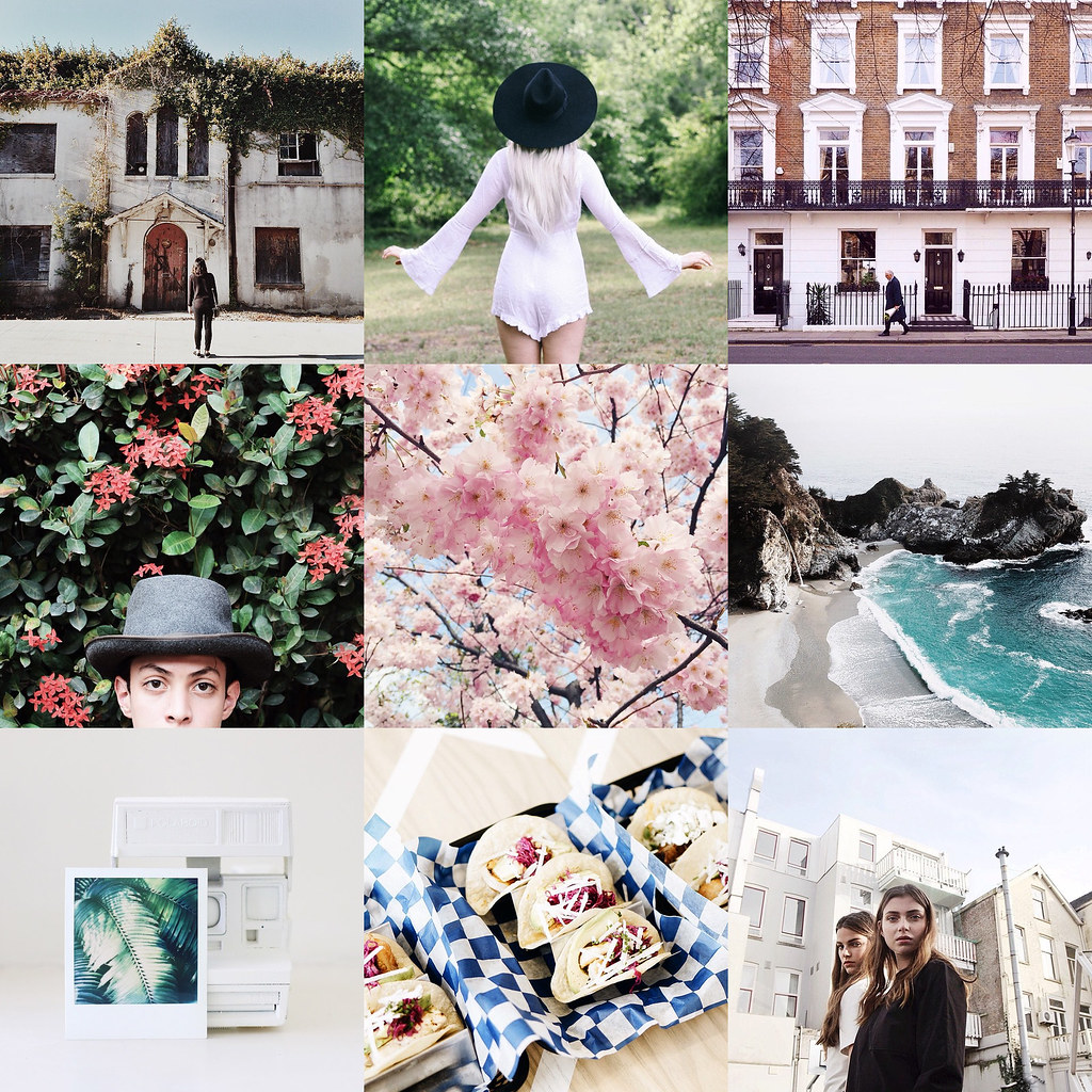 instagram photography - fashion, nature, food