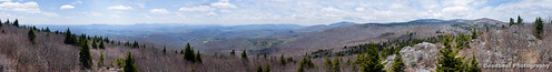panorama virginia mt hiking rogers
