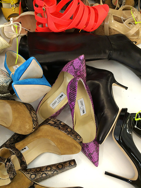 c84abc8bb7846 Just in time for out-and-about spring and summer, Jimmy Choo returned to the  NYC sample sale scene. This morning, I arrived at the brand's spring  bargain ...