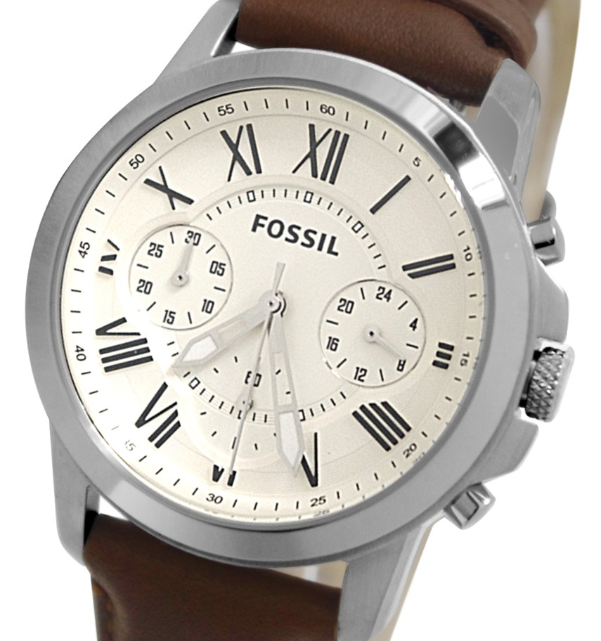 Fossil FS4839 Brown Grant Chronograph End 5 5 2016 415 AM