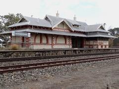 Bordertown. Bordertown Railway Station.