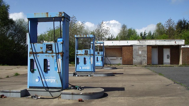 this petrol station is no more, it has ceased to be 07