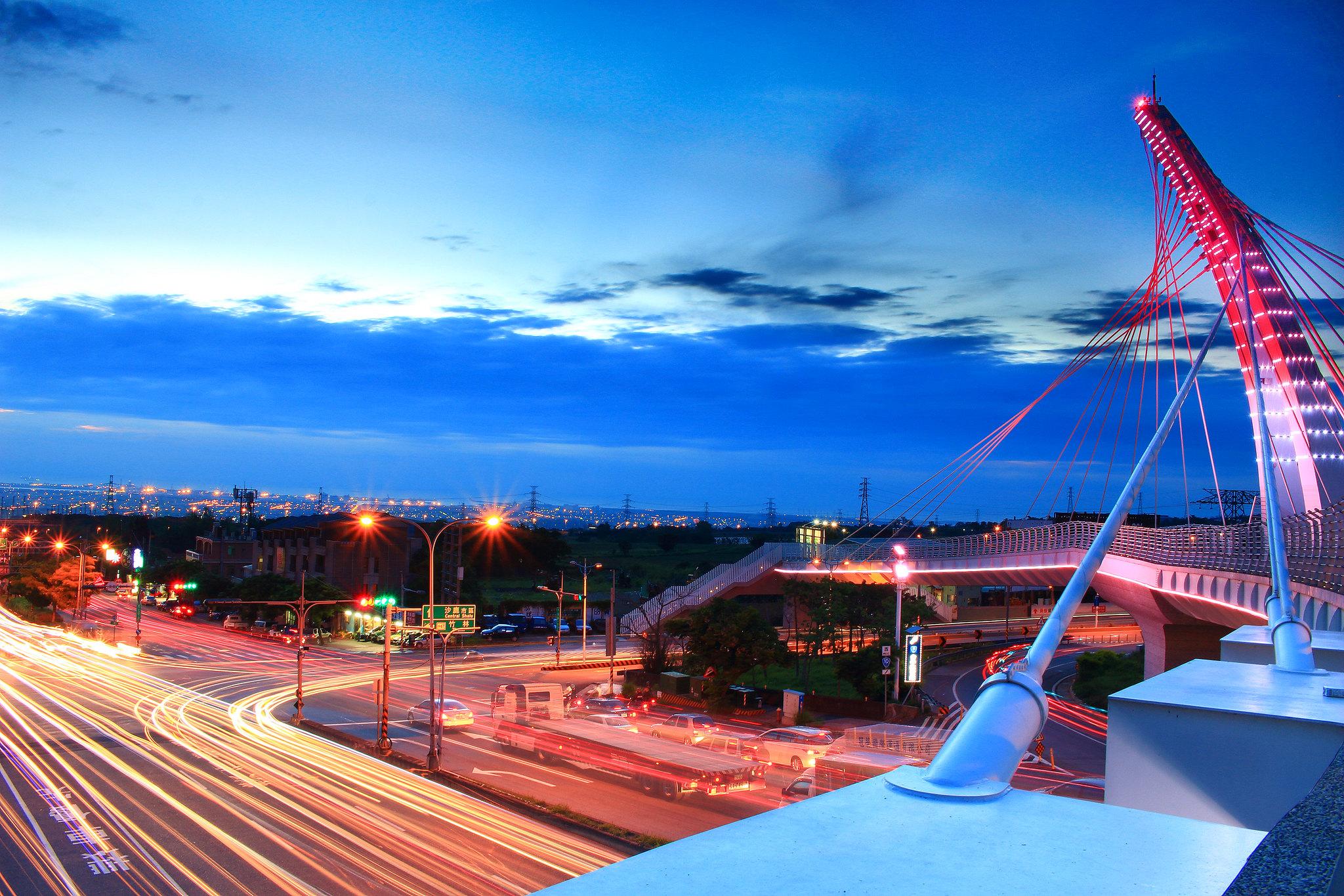 台中航空站..陸橋