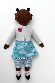 Girl doll for Spring