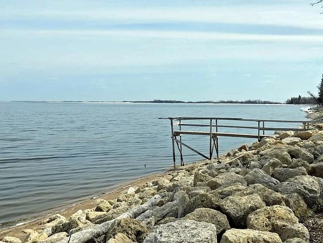 Lake Winnipeg at Matlock