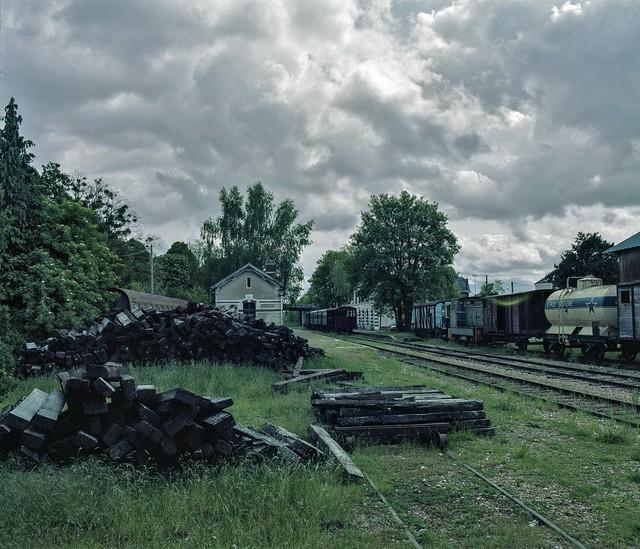 La gare de Pacy sur Eure