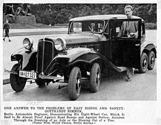 1935 Eight-Wheel Car