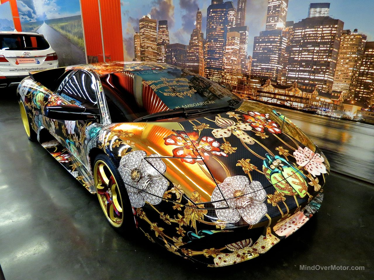 NYIAS 2015 Lamborghini Murcielago