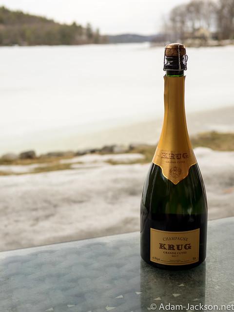 Krug Grand Cuvee Champagne