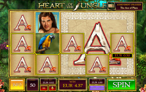 free Heart of the Jungle slot scatter symbol