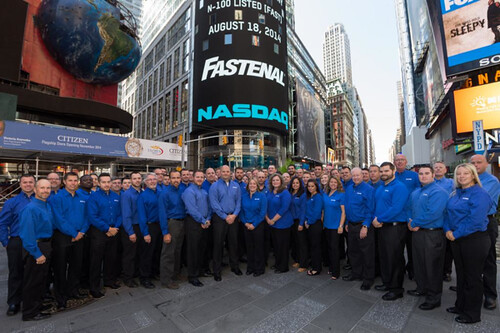 Fastenal Company's staffing boost helped deliver a solid first quarter earnings result