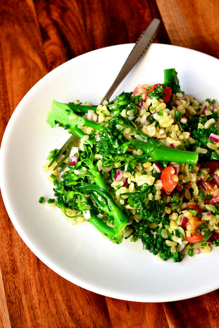 Tenderstem Broccoli Tabbouleh Recipe