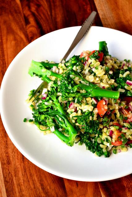 Tenderstem Broccoli Tabbouleh Recipe