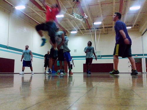 Basketball at the Rec (April 29 2014)