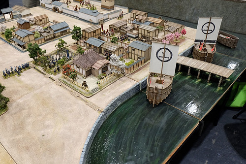 Feudal Japanese Table at Salute 2015