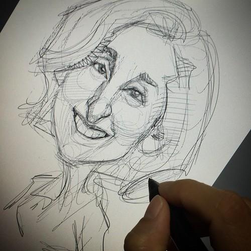 Do a sketch before I sleep.......