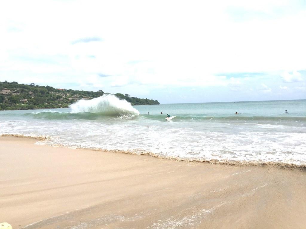 jimbaran beach - surfing
