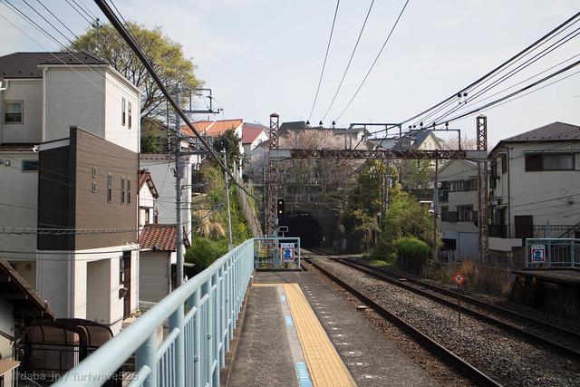 20150406 山手駅 / Yamate Sta.